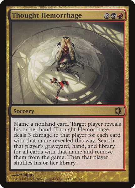 Thought Hemorrhage [ARB]