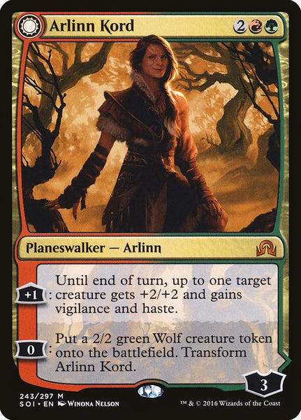 Arlinn Kord // Arlinn, Embraced by the Moon [SOI][Foil]