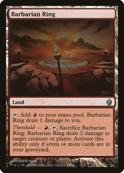 Barbarian Ring [PD2][Foil]