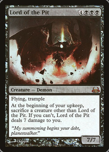 Lord of the Pit [DDC][Foil]
