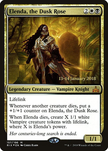 Elenda, the Dusk Rose [PRIX][Foil]