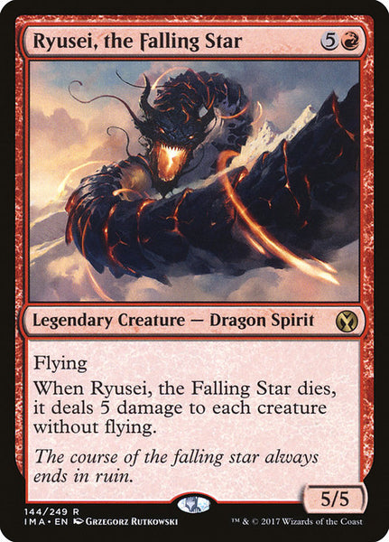 Ryusei, the Falling Star [IMA]
