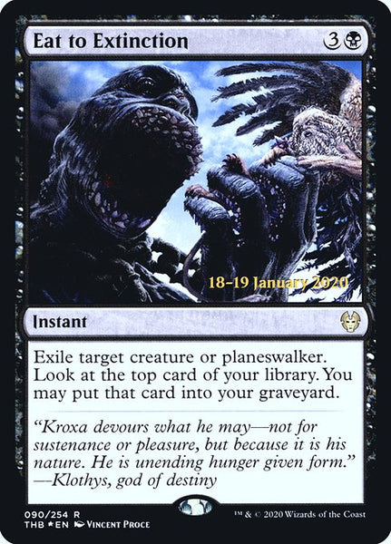Eat to Extinction [PTHB][Foil]