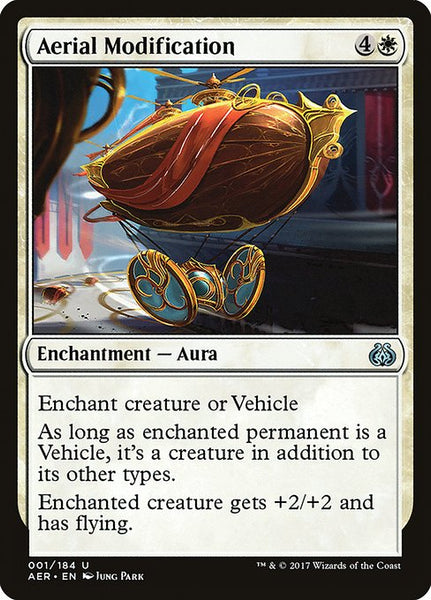 Aerial Modification [AER][Foil]