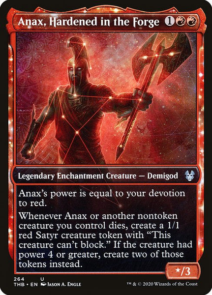 Anax, Hardened in the Forge [THB][Foil][Showcase]