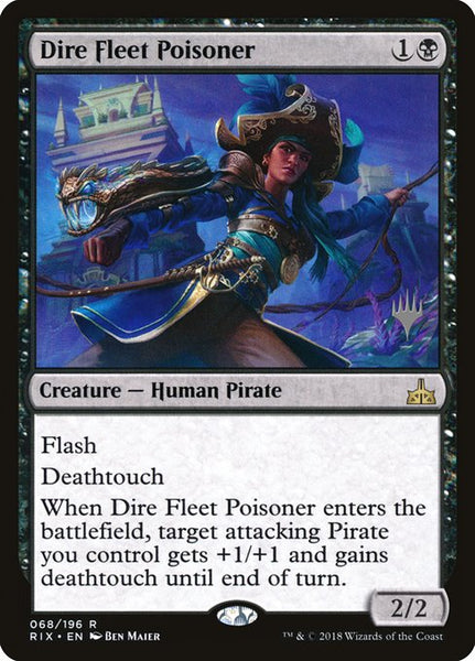 Dire Fleet Poisoner [PRIX][Foil]
