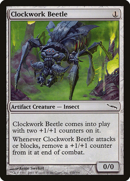 Clockwork Beetle [MRD][Foil]
