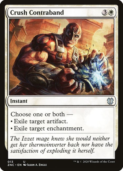 Crush Contraband [ZNC][Foil]