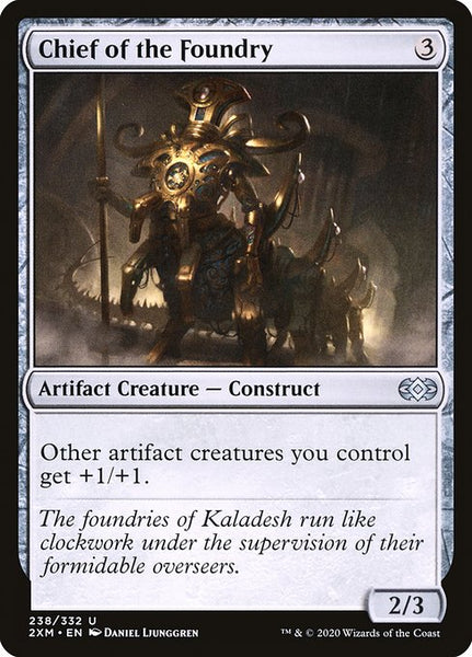 Chief of the Foundry [2XM][Foil]