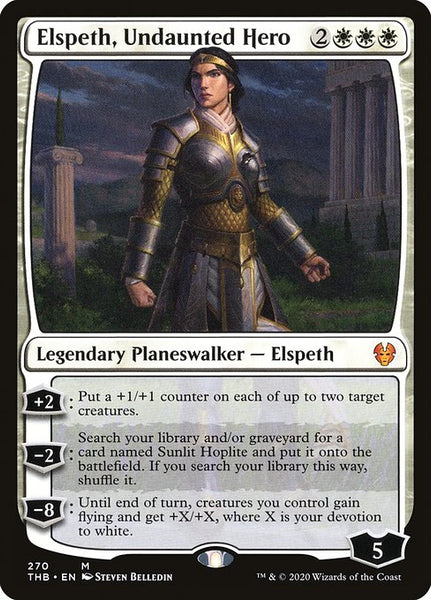 Elspeth, Undaunted Hero [THB]