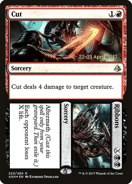 Cut // Ribbons [PAKH][Foil]