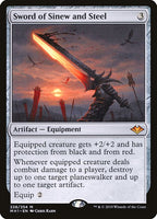 Sword of Sinew and Steel [MH1][Foil]