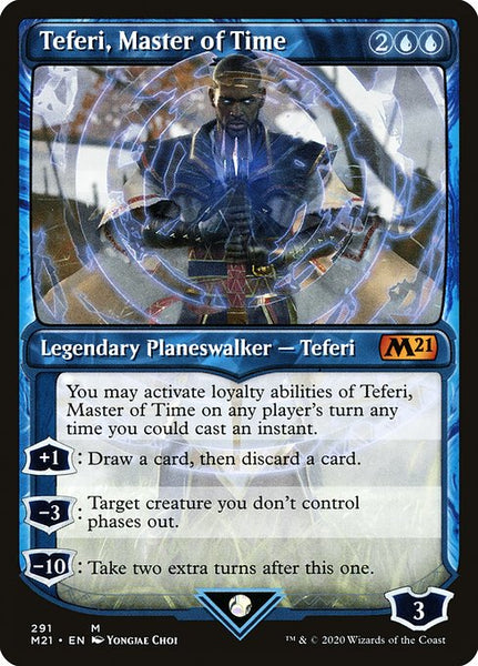 Teferi, Master of Time [M21][291] [Showcase]