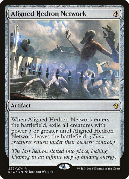 Aligned Hedron Network [BFZ]