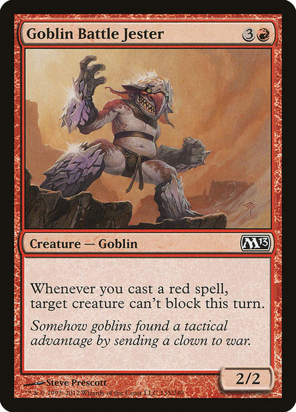 Goblin Battle Jester [M13]