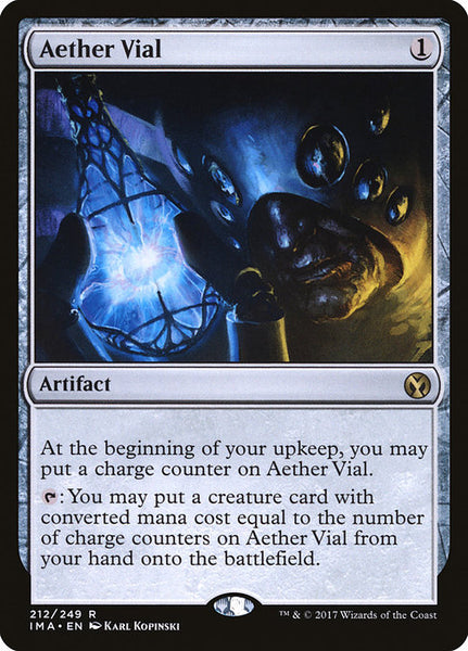 Aether Vial [IMA][Foil]
