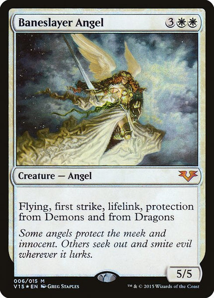 Baneslayer Angel [V15][Foil]