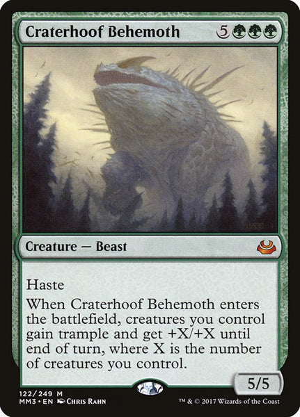Craterhoof Behemoth [MM3][Foil]