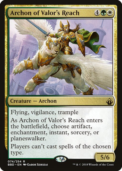 Archon of Valor's Reach [BBD][Foil]