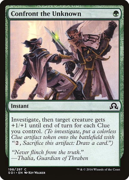 Confront the Unknown [SOI][Foil]