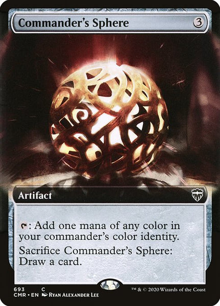 Commander's Sphere [CMR][Extended Art]
