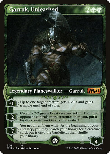 Garruk, Unleashed [M21][Showcase]