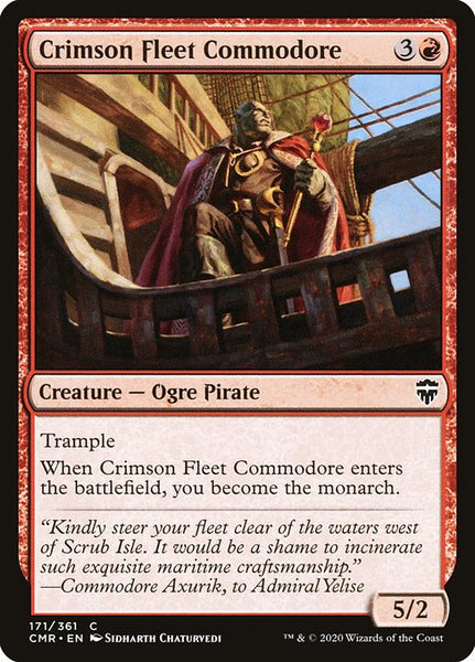 Crimson Fleet Commodore [CMR]
