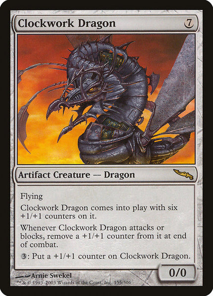 Clockwork Dragon [MRD][Foil]