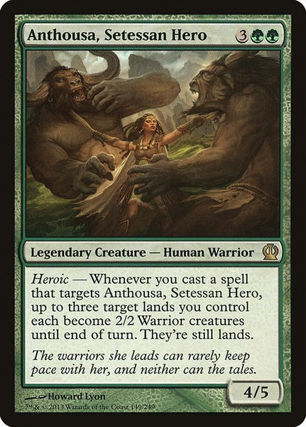 Anthousa, Setessan Hero [THS][Foil]
