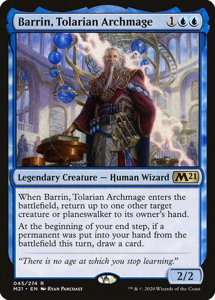 Barrin, Tolarian Archmage [M21][Foil]