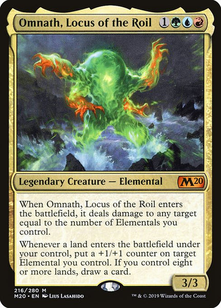 Omnath, Locus of the Roil [M20]