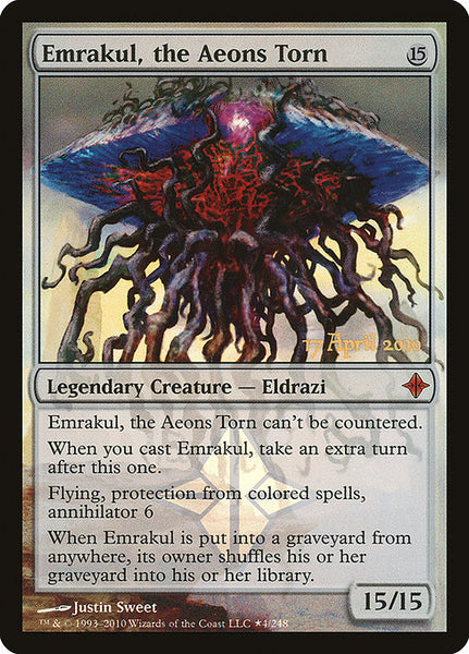 Emrakul, the Aeons Torn [PROE][Foil]