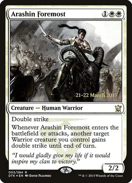 Arashin Foremost [PDTK][Foil]