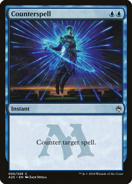 Counterspell [A25][Foil]