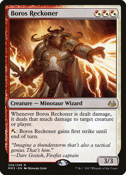 Boros Reckoner [MM3][Foil]