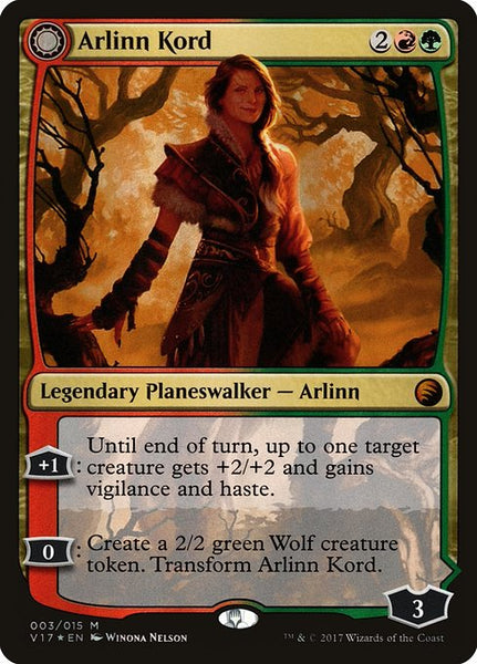 Arlinn Kord // Arlinn, Embraced by the Moon [V17][Foil]