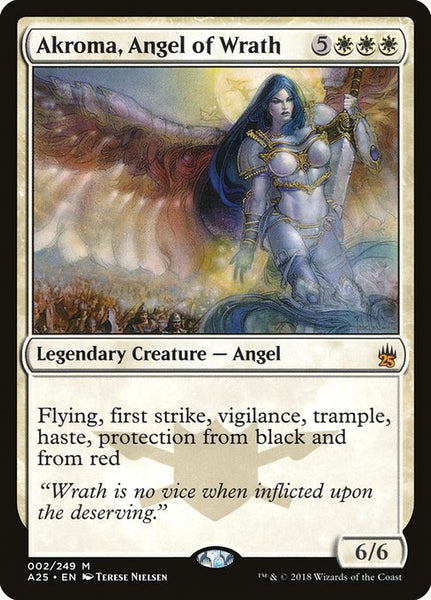 Akroma, Angel of Wrath [A25][Foil]