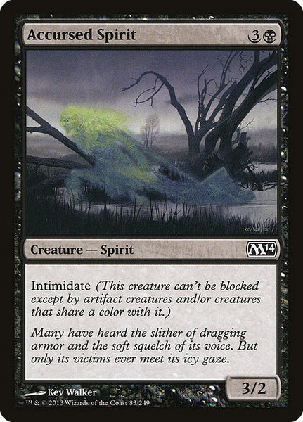 Accursed Spirit [M14]