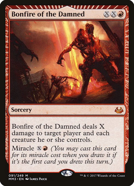 Bonfire of the Damned [MM3][Foil]