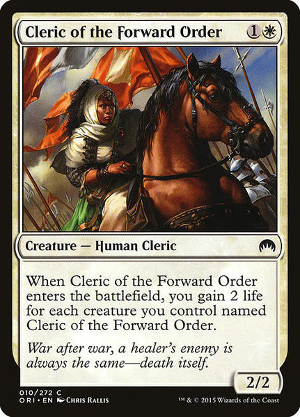 Cleric of the Forward Order [ORI][Foil]