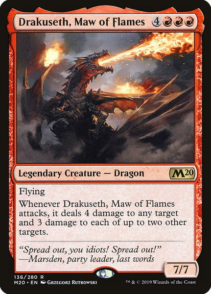 Drakuseth, Maw of Flames [M20]