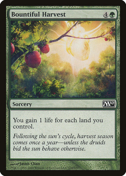 Bountiful Harvest [M10][Foil]