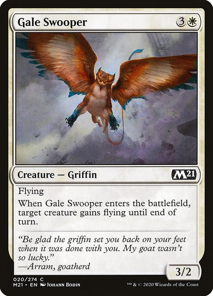 Gale Swooper [M21]