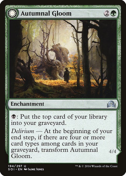 Autumnal Gloom // Ancient of the Equinox [SOI][Foil]