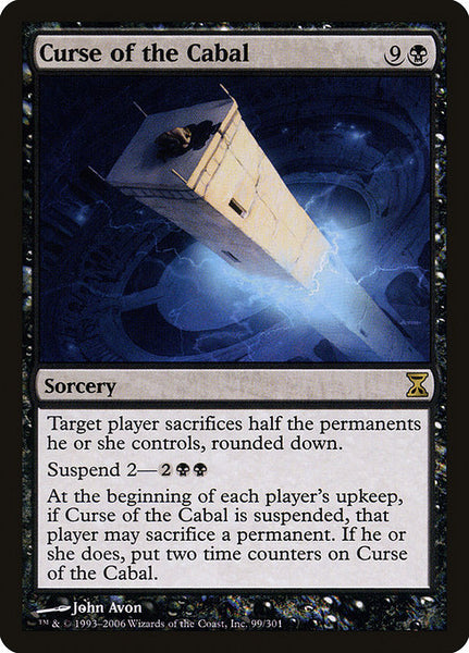 Curse of the Cabal [TSP][Foil]
