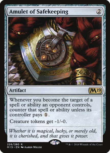 Amulet of Safekeeping [M19][Foil]