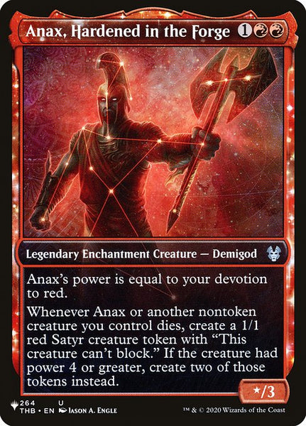 Anax, Hardened in the Forge [PLIST][Showcase]