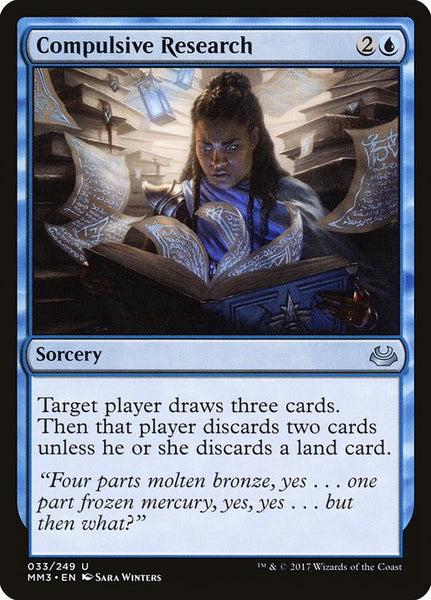 Compulsive Research [MM3]