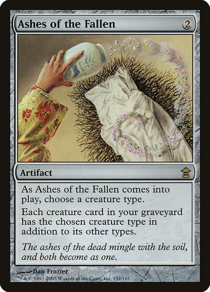 Ashes of the Fallen [SOK][Foil]