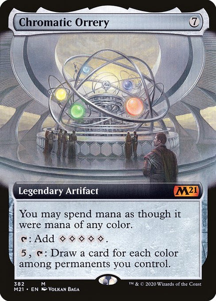 Chromatic Orrery [M21][Extended Art]